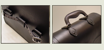 leather belts and purses